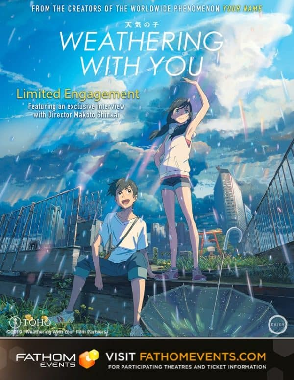 Weathering With You poster image